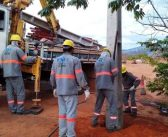 Rede de Energia Elétrica já é realidade no bairro Cidade Nova em Monte Azul