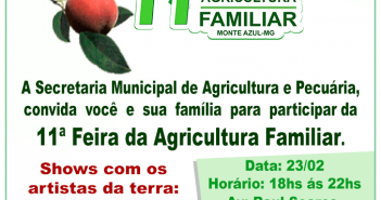 11ª Feira de Agricultura Familiar