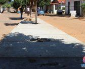 Prefeitura Municipal inicia revitalização em canteiros central na Av. Presidente Raul Soares