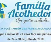 Família Acolhedora, Um gesto cidadão