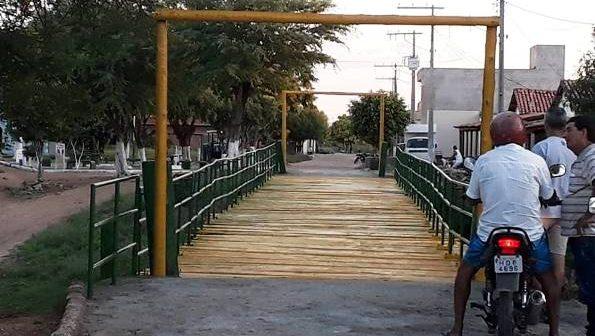 Reinauguração da Ponte Sobre o Rio Pajeú