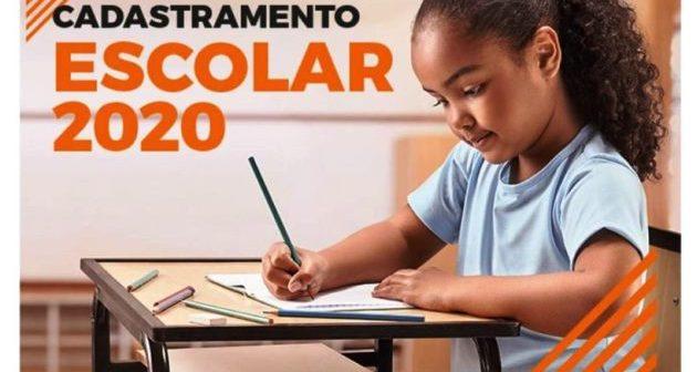 Cadastramento Escolar 2020