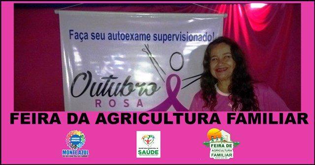 Feira da Agricultura Familiar Especial Outubro Rosa