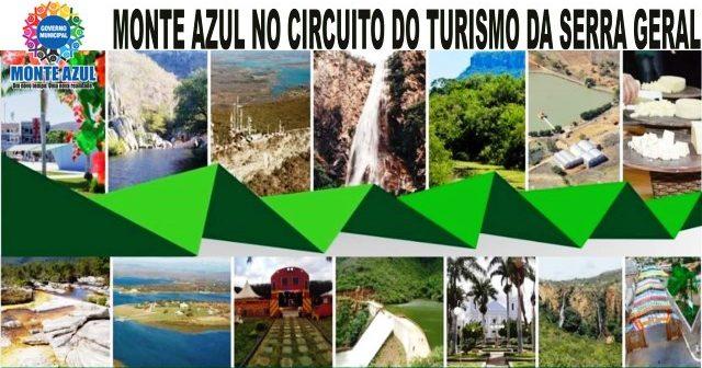 Monte Azul no Circuito do Turismo da Serra Geral do Norte de Minas