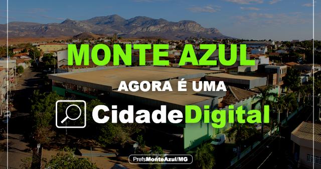 Monte Azul Agora é Cidade Digital