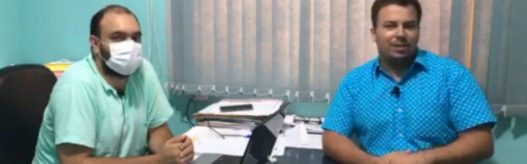 TV Monte Azul entrevista o Secretário Municipal de Saúde Cleonaldo Ferreira Santos