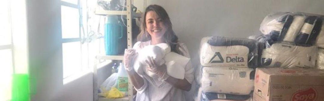 Prefeitura de Monte Azul, através da secretaria de educação realiza entrega de kits de alimentação e higiene para dezenas de famílias dos alunos da rede municipal de educação.