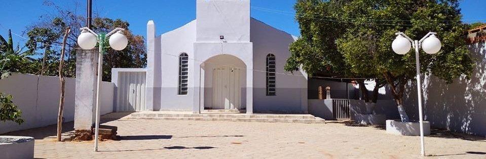 Calçamento da Praça da Igreja na comunidade de Pedreiras é concluido.
