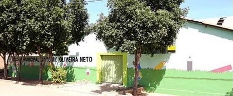 Escola Municipal Antonio Oliveira Neto na comunidade Pajéu passa por reformas através da Secretaria Municipal de Educão