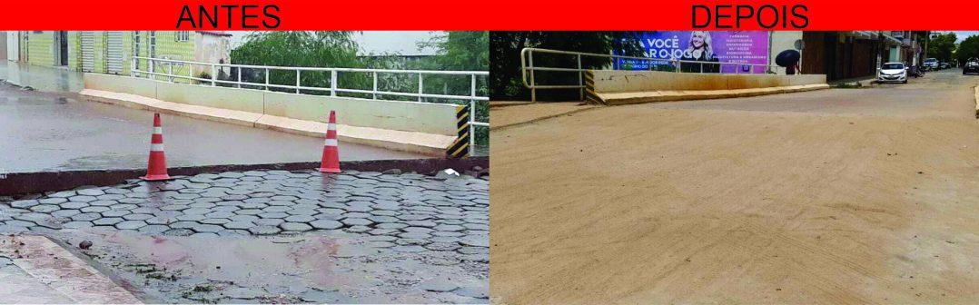 Prefeitura Municipal de Monte Azul restabelece o Trânsito da Ponte na Alameda Manoel Teixeira da Silva em tempo recorde.